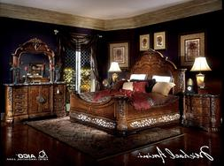 AICO by Michael Amini Excelsior 5PC king size bedroom set