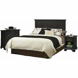 Queen/ Full Size Headboard Night Stand Bedroom Chest Set Bed